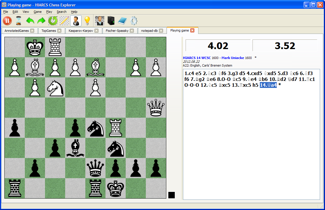 PC Chess Software - HIARCS Chess Explorer download