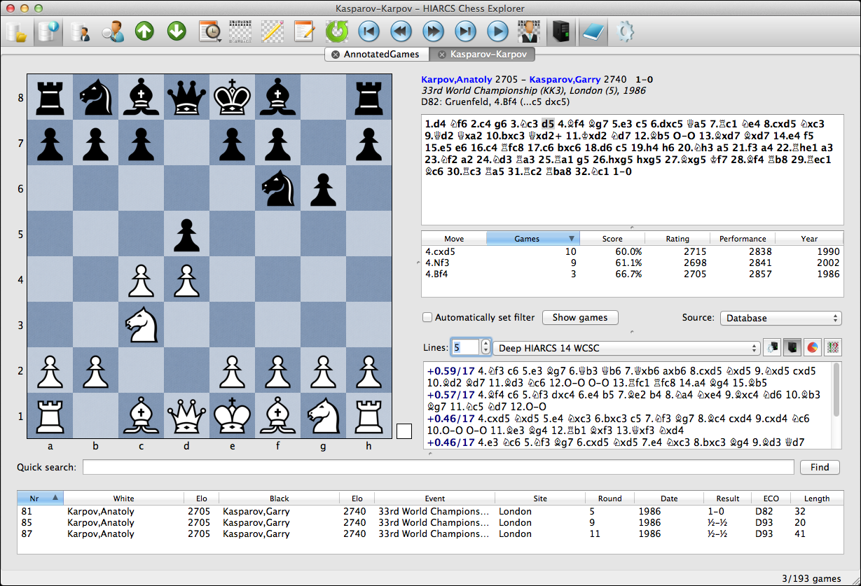 HIARCS Chess Software Apps for PC and Mac Chess Games