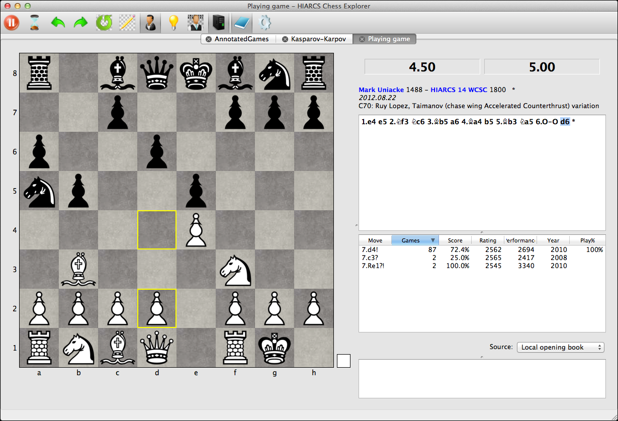 Mac Chess Software - HIARCS Chess Explorer download