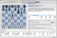 Mac Chess Explorer main display with chess game, opening book and  and database
