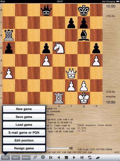 iPad Chess Manual