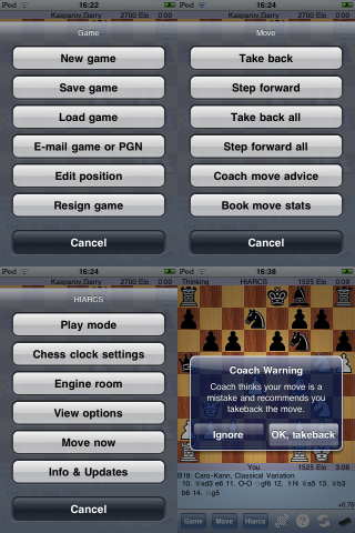 HIARCS iPhone Chess